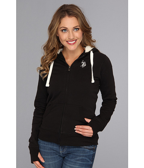 Bluze U.S. Polo Assn - Classic Fleece Hoodie - Black