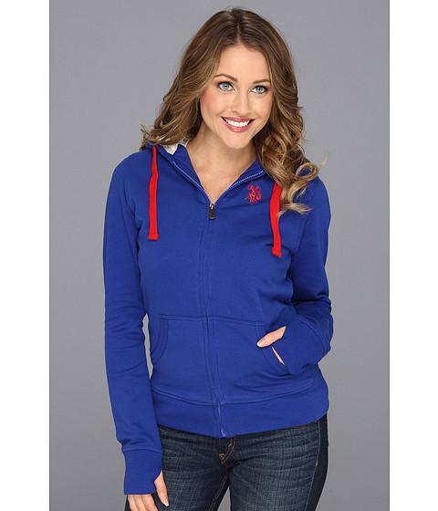 Bluze U.S. Polo Assn - Classic Fleece Hoodie - Internation Blue