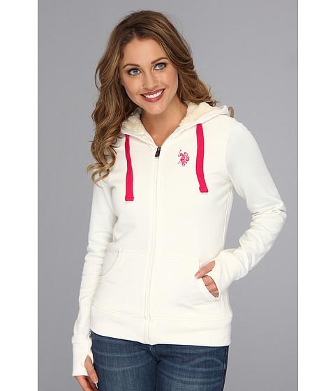 Bluze U.S. Polo Assn - Classic Fleece Hoodie - Oat