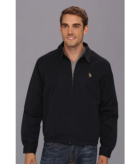 Jachete U.S. Polo Assn - Micro Golf Jacket w/ Polar Fleece Lining - Classic Navy