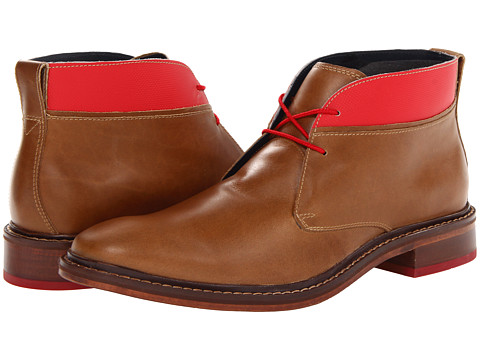 Ghete Cole Haan - Colton Winter Chukka - Golden Beige Waterproof/Velvet Red