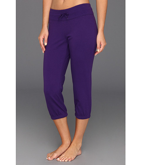 Pantaloni Under Armour - UA Charged Cottonî Storm Marble Capri - Purple Rain/Purple Rain