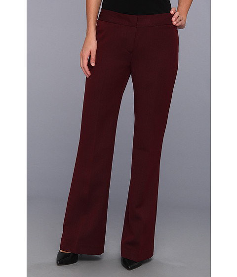 Pantaloni Nine West - Twill Pant - Bordeaux