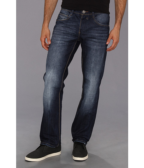 Blugi Fresh Brand - Keaton Medium Dark Wash Denim - Medium Dark Blue Wash