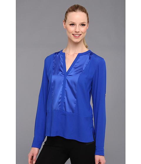 Bluze Calvin Klein - Combo Crew Poly CDC Blouse - Celestial