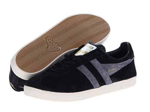 Adidasi Gola - Trainer Suede - Black/Anthracite