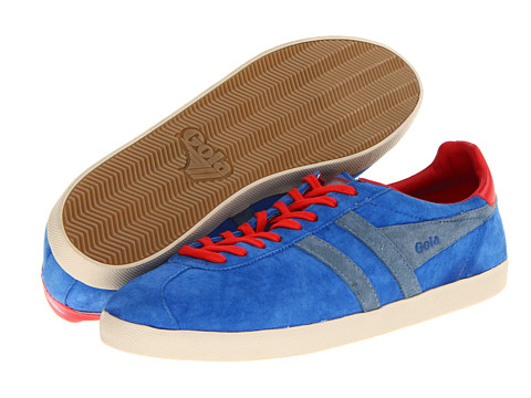 Adidasi Gola - Trainer Suede - Reflex Blue/Process Blue/Red