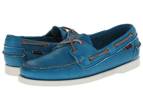 Pantofi Sebago - Horween Docksides - Bright Blue