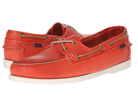 Pantofi Sebago - Horween Docksides - Bright Red
