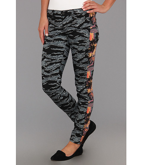 Pantaloni Hurley - Camaro Skinny Tux Legging (Juniors) - Hot Red Tropics