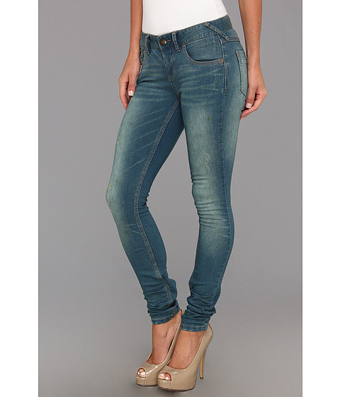 Blugi Free People - Denim Skinny - Benny Wash