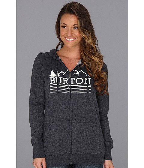Bluze Burton - Griswold Recycled Full Zip - Heather Eclipse