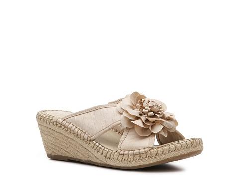 Sandale LifeStride - Bloom Wedge Sandal - Beige