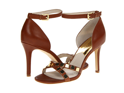 Pantofi MICHAEL Michael Kors - Chantalle Ankle Strap - Luggage