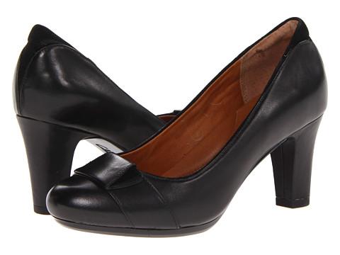 Pantofi Clarks - Society Disc - Black Leather