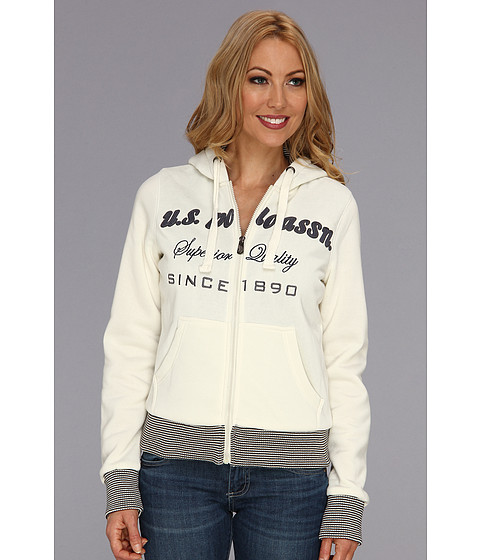 Bluze U.S. Polo Assn - Logo Chest Hoodie - Oat