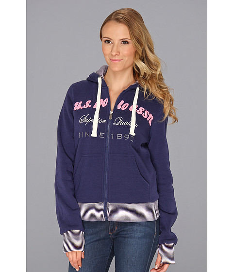 Bluze U.S. Polo Assn - Logo Chest Hoodie - Tribal Navy