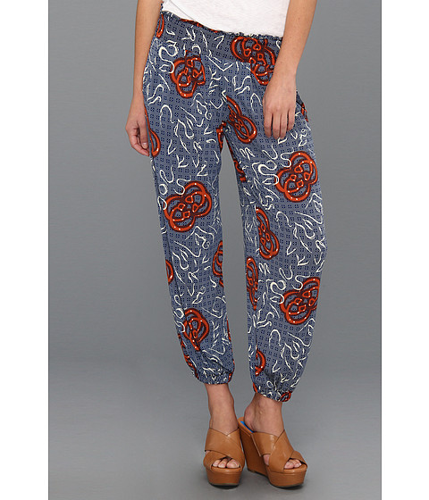 Pantaloni Tbags Los Angeles - Cropped Pants - VA14 Print