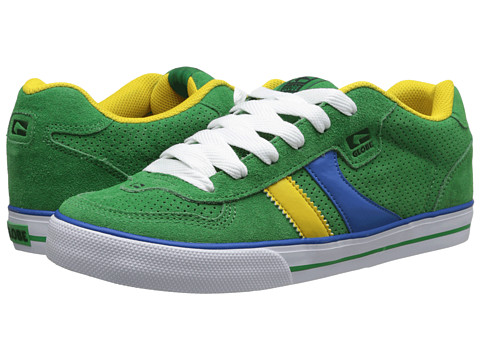 Adidasi Globe - Encore - Green/Blue/Gold