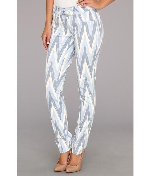 Blugi Seven7 Jeans - Printed Skinny Pant - Blue Chevron