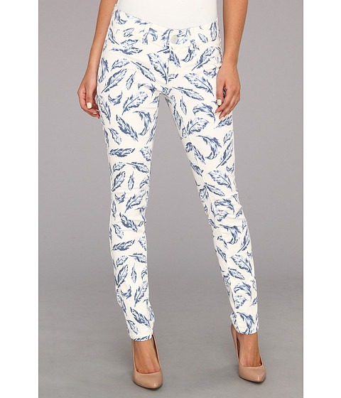 Blugi Seven7 Jeans - Printed Skinny Pant - Blue Feather