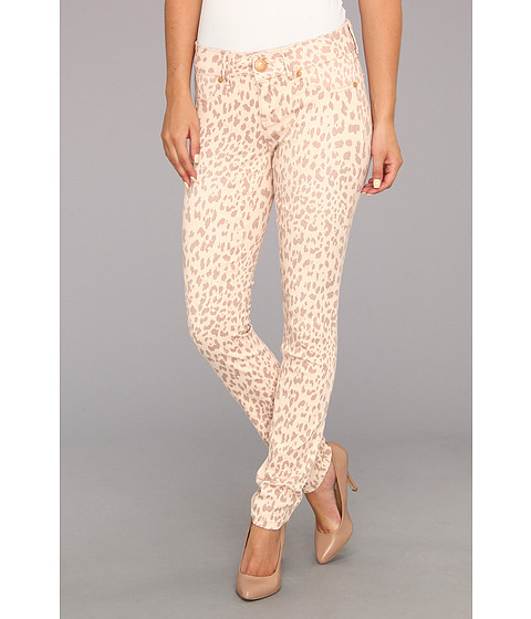 Blugi Seven7 Jeans - Printed Skinny Pant - Peach Leopard