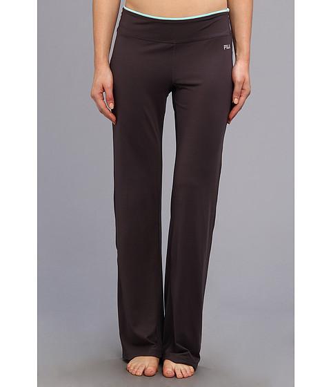 Pantaloni Fila - Boot Cut Pant - Ebony/Icy Blue