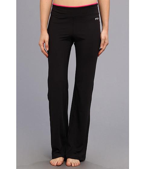 Pantaloni Fila - Boot Cut Pant - Black/Pink Glo