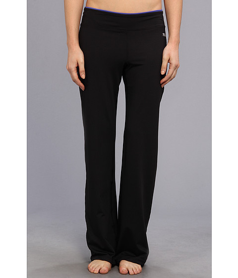 Pantaloni Fila - Boot Cut Pant - Black/Dazzling Blue