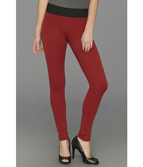 Pantaloni BCBGMAXAZRIA - Mason Skinny Pant - Merlot