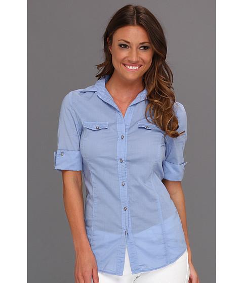 Bluze UNIONBAY - Paige Poplin Shirt - Blue Bonnet