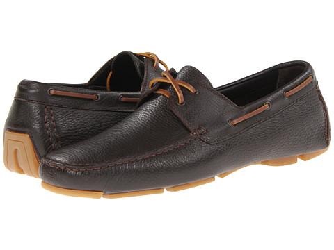 Pantofi BRUNO MAGLI - Eblan - Dark Brown Tumbled Calf