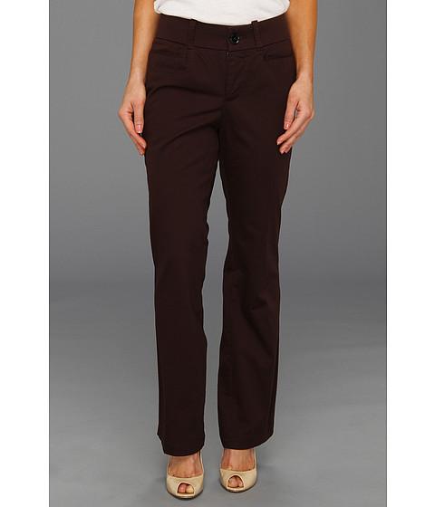 Pantaloni Dockers - Petite Classic Metro Pant - Solid - Chocolate