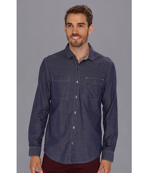 Camasi Calvin Klein Jeans - L/S Denim Woven Shirt - Dark Wash