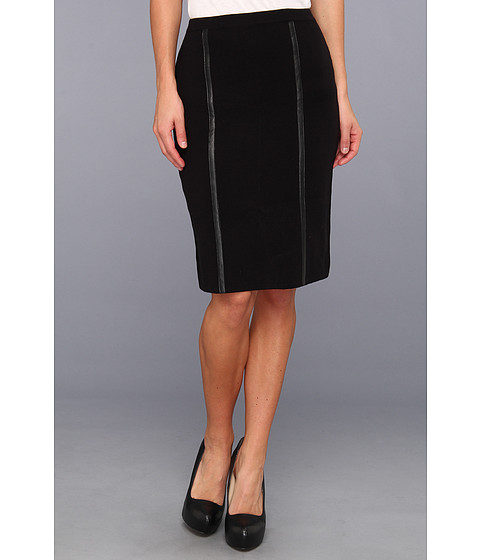 Fuste Calvin Klein - SMD Sweater Acrylic Skirt - Black