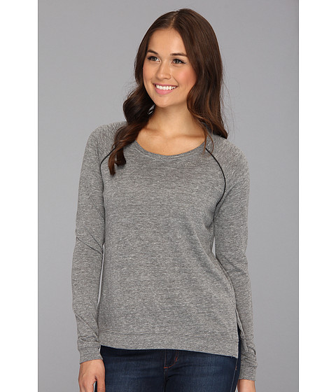 Bluze Alternative Apparel - Locker Room Pullover - Eco Grey/Eco Black