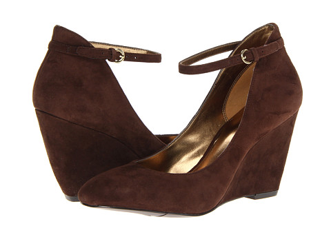 Pantofi Nine West - Zelene - Dark Brown Suede