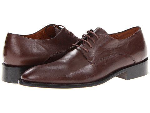 Pantofi Fitzwell - Alexander Plain Toe - Brown Leather