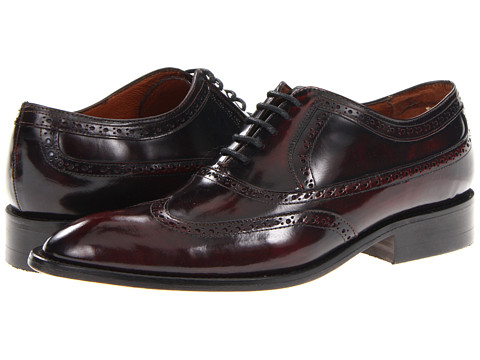Pantofi Fitzwell - Washington Wing Tip - Burgundy Leather
