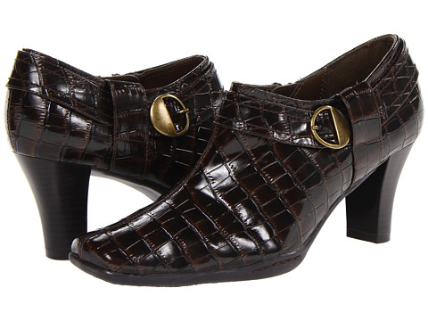 Pantofi Aerosoles - A2 by Aerosoles Fascination - Brown Croco