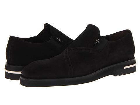 Pantofi Cesare Paciotti - 44603 - Camoscio Black