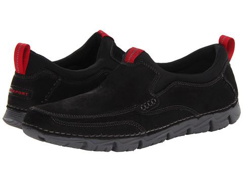 Adidasi Rockport - RocSports Lite 2 Moc Slip On - Black Nubuck