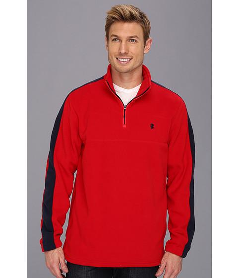 Bluze IZOD - Long Sleeve 1/4 Zip Fleece Pullover - Real Red