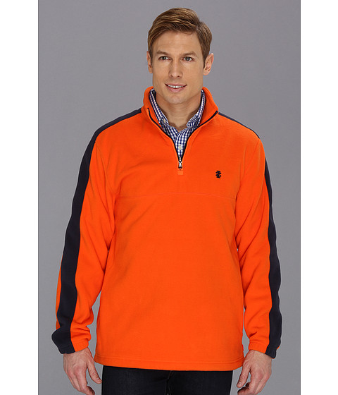 Bluze IZOD - Long Sleeve 1/4 Zip Fleece Pullover - Orangeade