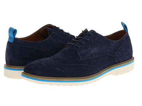 Pantofi Kenneth Cole Reaction - Never Too Hype - Blue Suede