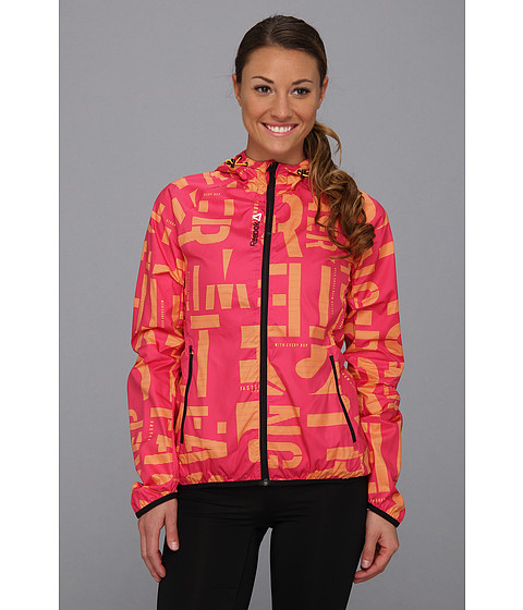 Bluze Reebok - Reebok Series One Woven Jacket - Candy Pink/Neon Orange