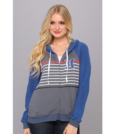 Bluze Hurley - Fallbrook Fleece - Heather Varsity Blue