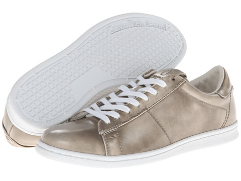 Adidasi Calvin Klein Jeans - Hart - Light Taupe High Shine Smooth