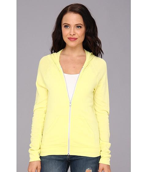 Bluze Alternative Apparel - Relay Raglan Hoodie - Eco True Lemon