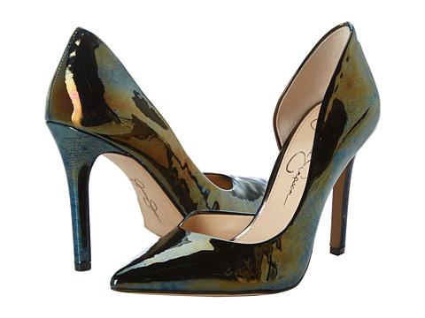 Pantofi Jessica Simpson - Claudette - Black Gasolina Patent